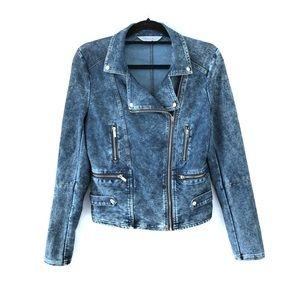 Marilyn Monroe Moto Jeans Jacket